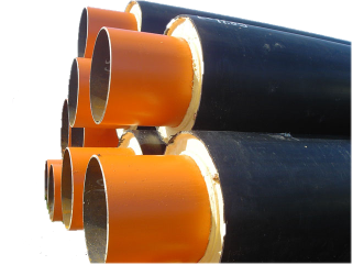 PUR coating steel pipe Pliuma